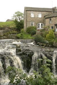Photo of water falls in Hawes, which is 5 mile from High Blean B&B