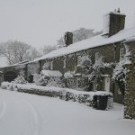 High Blean Raydaleside Raydale, Bainbridge Yorkshire Dales nr Askrigg and Hawes in the snow