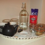Hospitality tray at High Blean B&B Askrigg, Yorkshire Dales