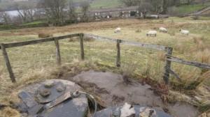 Private water supply at High Blean B&B, Askrigg, Yorkshire Dales