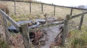 Private water supply at High Blean B&B Askrigg, Yorkshire Dales