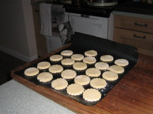 Biscuits for the guests at High Blean B&B Bainbridge Askrigg Yorkshire Dales