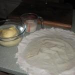 Butter being made at High Blean B&B Askrigg
