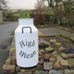 New sign for High Blean B&B Askrigg, Semer Water Yorkshire Dales