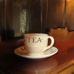 Tea cup at High Blean B&B Askrigg Yorkshire Dales