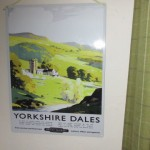 Tim plate picture at High Blean B&B Askrigg